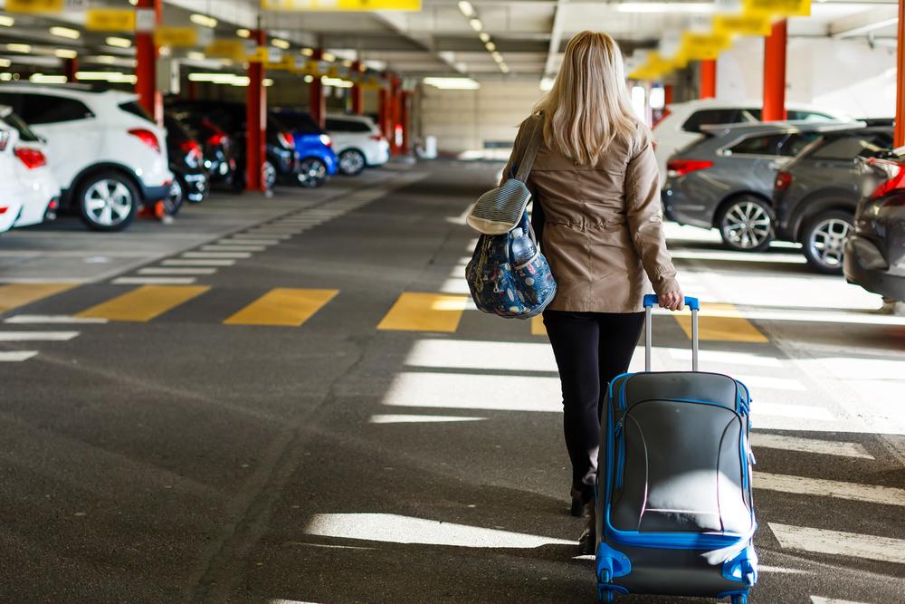 parking près l'aéroport